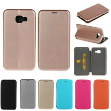 Luxury iPhone Samsung Galaxy PU Leather Flip Stand Case Cover Wallet Card Holder