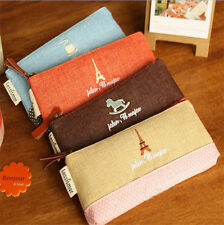 New Stationery Simple Fashion Pencil Pen Case Cosmetic Makeup Bag's Pouch g32
