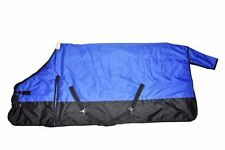 600D Waterproof Turnout MEDIUM WEIGHT HORSE WINTER BLANKET-ROYAL BLUE