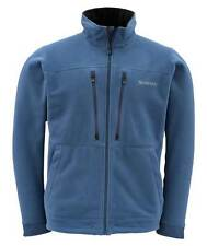 SIMMS ADL FLEECE JACKET (W/ Windstopper) - Navy - XL- NEW-  Free US Ship