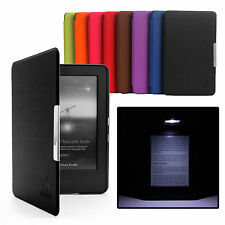 ULTRA THIN PU LEATHER CASE COVER FOR KINDLE WITH TOUCH (7th Generation 2015)
