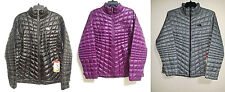 NEW Womens 2XL XL L The North Face Thermoball FZ Jacket Black Purple Lightweight