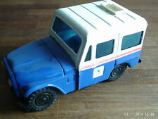 Vintage Tin Moneybox Jeep  US Mail   no Metal Stopper  Made in Korea