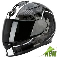 Scorpion EXO-510 AIR GUARD Motorcycle Full Face Helmet Touring - black white
