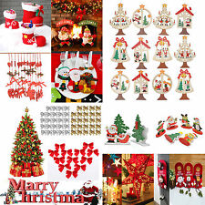 Wholesale Xmas Tree Ornaments Hanging Holiday Party Decor Merry Christmas Crafts