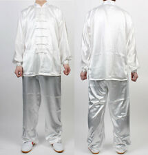 Wushu TaiChi Uniform Ivory KungFu uniforms China Tai chi Chuan Chinese Kung Fu