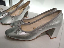 ZARA LAMINATED LEATHER BALLET FLATS WITH HEEL 35-41 REF. 6257/101