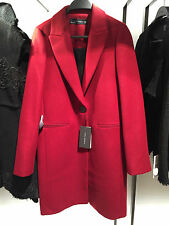 ZARA WOOL MASCULINE COAT BURGUNDY XS-XL REF. 7949/744
