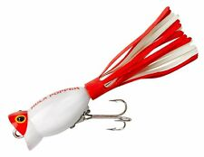 """Arbogast Hula Popper - 2 Topwater Lures - 1/4oz, 1-3/4"""" - Pick your Color #G770"""