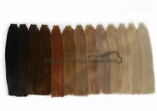 100% Human Hair Remy Genuine Hair Tape In/On Extensions Skin Weft Hair extension