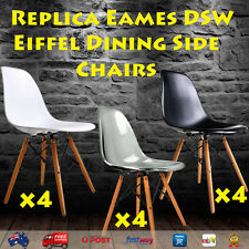 Replica Eames DSW Eiffel Dining Side Chairs Set of 4