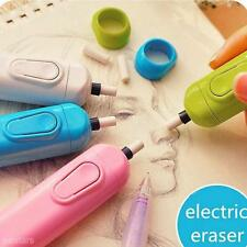 Handy Electric Eraser Kit Battery Operated + 20 Eraser Refills For Design Office