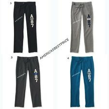AEROPOSTALE NEW MENS SWEATPANTS SLIM STRAIGHT,NWT,BLACK,BLUE,LIGHT & DARK GRAY,