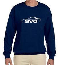 1984 1985 1986 Ford Mustang SVO Turbo Classic Outline Design Sweatshirt NEW