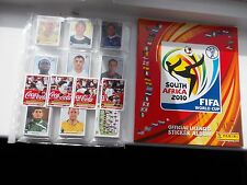 football stickers panini world cup 2010 full set of 640 + Germany Edition album