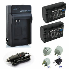Battery Charger For Sony HDR-CX110E, HDR-CX110/R, HDR-CX110/L Handycam Camcorder