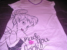 Disney Tinkerbell Womens Nightshirt Made You Look