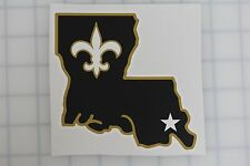 NFL New Orleans Saints Vinyl Decal Bumper Sticker for Car Cornhole Wall Truck