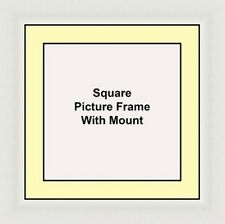 NEW Square Picture Frame - Ivory Mount Made in UK Best and Unique Photo Frames