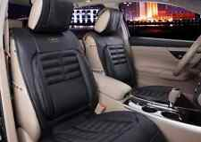 Universal PU Leather Front Rear Car Seat Cushion Cover 6pcs Seat Cover New