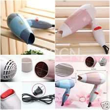 Portable Travel Hot Mini Hair Blow Dryer 600W Compact Blower Foldable Hair Dryer