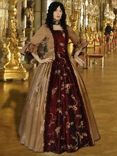 Medieval Dress Renaissance Baroque Dress Handmade Gown Noble Clothing Queen
