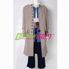 Pirates of the Caribbean Cosplay Jack Sparrow Cosplay Costume Suit Outfit Custom