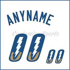 Baseball Omaha Storm Chasers White Jersey Customized Number Kit un-sewn