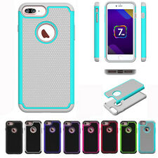 Slim Hybrid Armor Shockproof Rugged Rubber Hard Case Cover for iphone 7 Plus