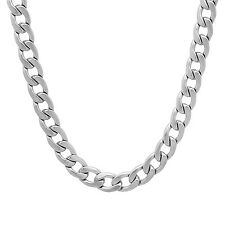 6.5mm Durable Solid Stainless Steel Cuban Curb Link Chain Necklace