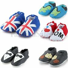 NEW! Cute Cartoon Newborn Infant Toddler Baby Boy Girl Kid Soft Sole Shoes