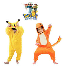 Halloween Kids Cosplay Pokemon Pyjamas Kigurumi Costume Pikachu Onesie Pajamas!~