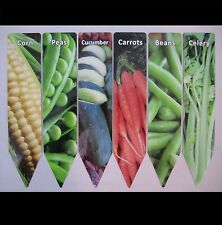 Garden Stakes Markers Vegetable Plant Metal Herbs