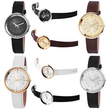Just Watches Ladies Quartz watch Model series JW13461 Stainless Steel Leather