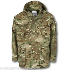 BRITISH ARMY MTP SMOCK ISSUE FLEECE LINED POCKETS WINDPROOF FIELD JACKET CADET