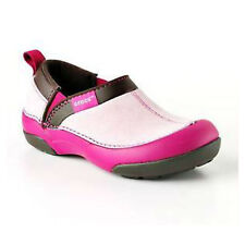 Girls Crocs Cunning Cameron Kids Bubblegum/Berry Slip On Shoes