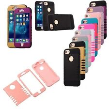 Hybrid Rugged Rubber Heavy Duty Matte Hard Case Cover For Apple iPhone 7/7 Plus
