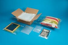 """3""""x 10"""" to 18""""x 24"""" LDPE 1mil LAY FLAT FDA CLEAR OPEN TOP END PLASTIC POLY BAGS"""