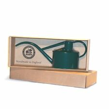 Haws 2 Pint Metal Indoor Watering Can with Rose And Gift Box