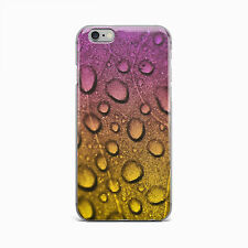 Raindrop Water Drop Hard Case Cover For iPhone 4 4S 5 5S 5c SE 6 6S Plus iPod