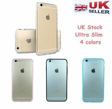 """Slim Shockproof Clear Back TPU Gel Bumper Case Cover for Iphone7 4.7""""/7 Plus"""