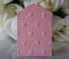 "2""x3"" Embossed Heart Earring Cards, Jewelry Cards, Retail Display Cards - NEW"