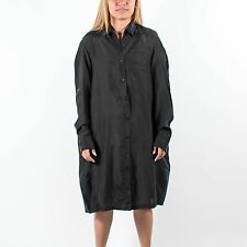 PUMA WOMENS URBAN MOBILITY SHIRT DRESS BLACK 558700 01 HUSSEIN CHALAYAN T146