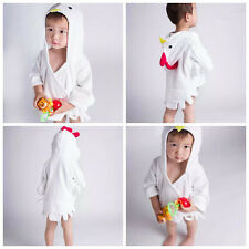 Cotton Towel Beach Random Washcloths Kids Wrap Baby Bathrobe Hooded Bath