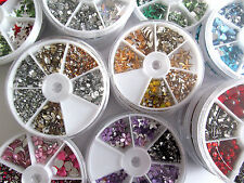 Mixed Flat Back Acrylic Rhinestone Gems Diamonte ~ Embellishments Card Crafts