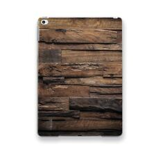 Vintage Wooden Clear Case Smart Cover Apple iPad Air Pro Mini 1 2 3 4 9.7 12.9