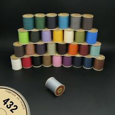 Fil au Chinois No.432 Waxed Lin Cable Leather craft Linen Thread 0.63mm spool