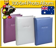 6x4 Photo Album holds up to 300 Photos