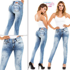 Colombian Jeans Levanta cola Fajate Virtual Sensuality Push Up Best Butt Lifter
