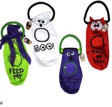 HALLOWEEN TRICK AND TREAT BAGS- 4 AMAZING DESIGNS